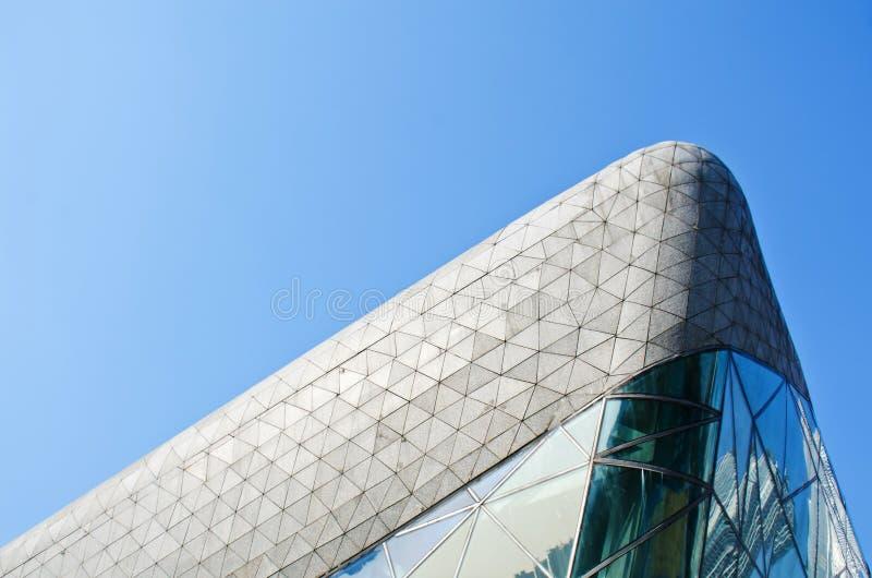 广州广州瓷的歌剧院 图库摄影