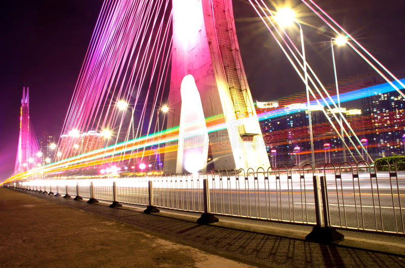 广州桥梁 免版税库存图片