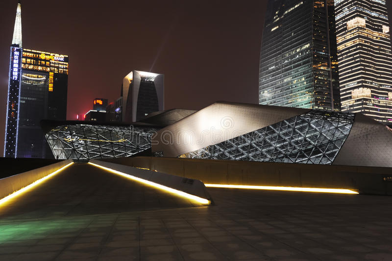 广州歌剧院 图库摄影