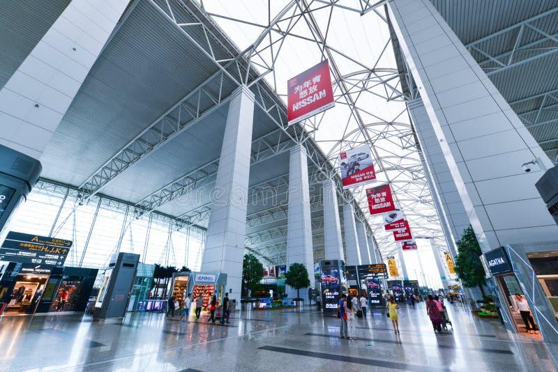 广州白云国际机场 免版税库存图片