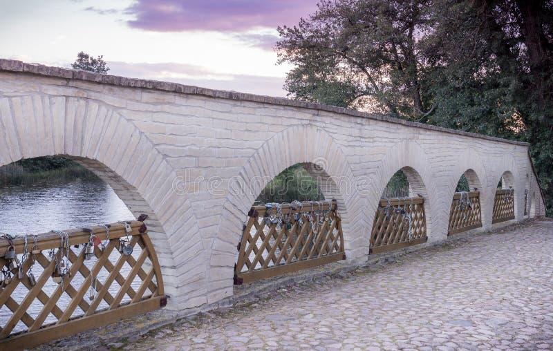 庄园住宅桥梁帕克鲁奥伊斯的 免版税库存图片