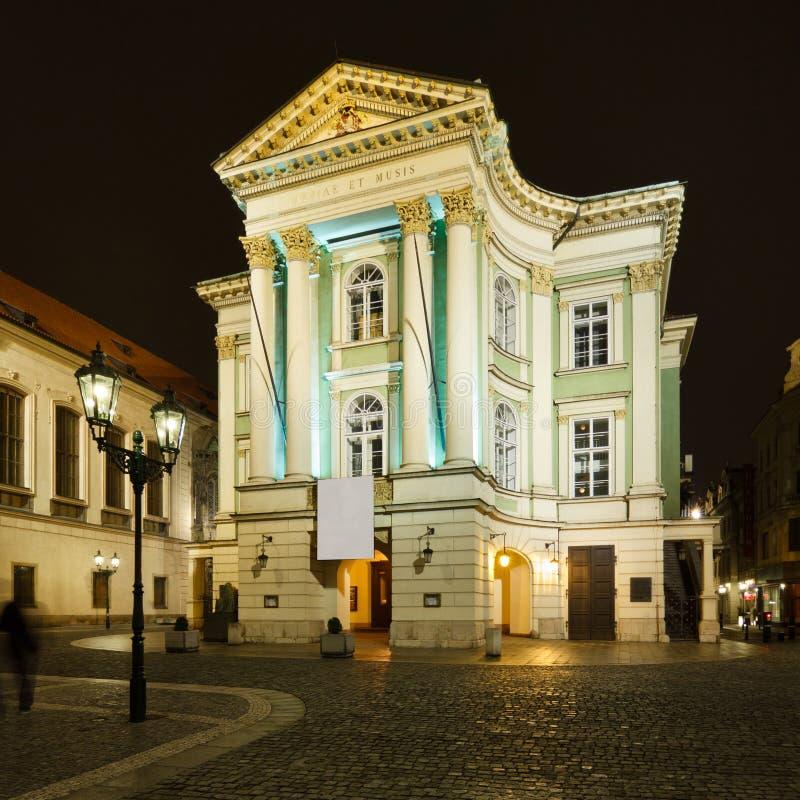 庄园剧院在布拉格 库存照片