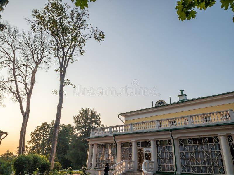 庄园的主楼 弗拉基米尔・伊里奇・列宁前住所  库存照片