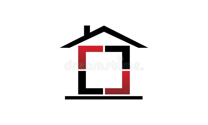 庄园舱内甲板房子实际租金销售额 向量例证