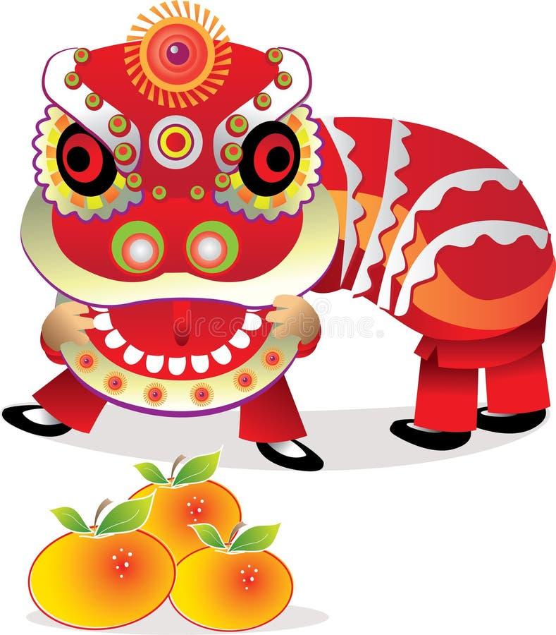 庆祝中国新年度 皇族释放例证