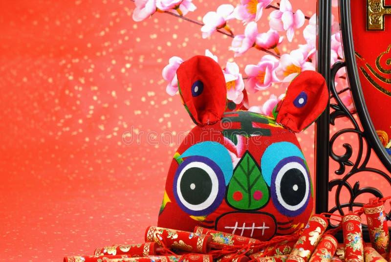 庆祝中国老虎年 库存照片