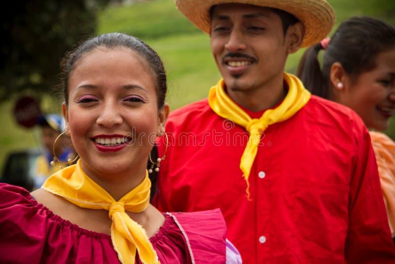 庆祝印锑秘鲁货币单位Raymi,印加人的土产社区 库存照片