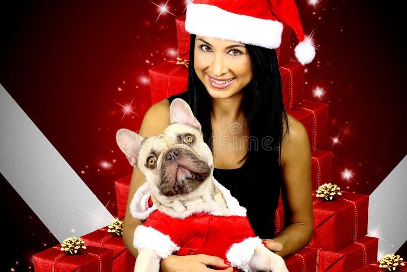 庆祝圣诞节系列 库存图片