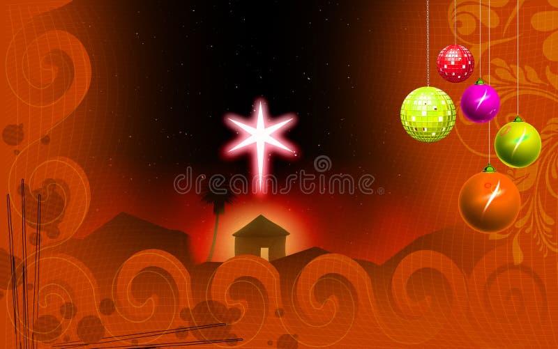 庆祝圣诞节 库存例证
