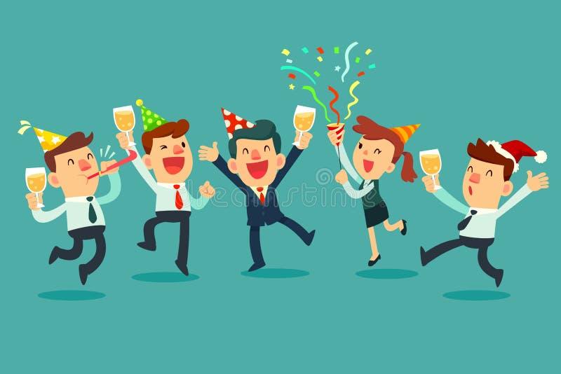 插画 包括有 节假日, 员工, 庆祝, 工友, 例证, 香槟 - 105620097图片