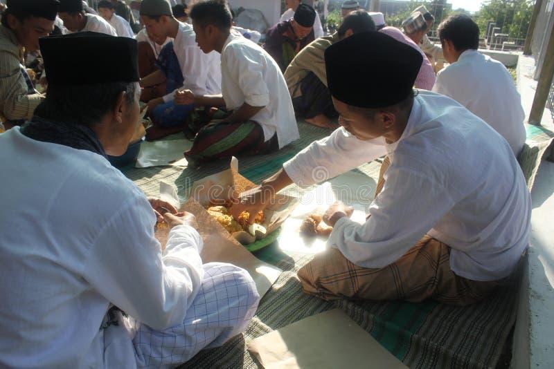 庆祝在清真寺 库存照片