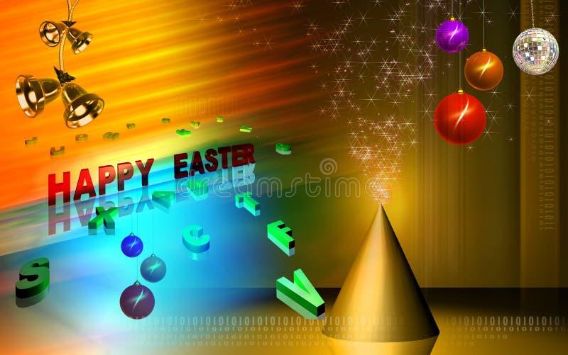 庆祝复活节 库存例证