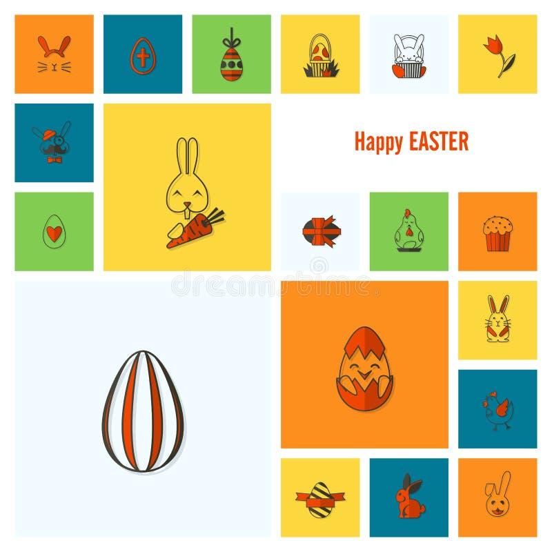 Download 庆祝复活节象 向量例证. 插画 包括有 图标, 照亮, 符号, bataan, 设计, 背包, 鸡蛋, 交叉 - 59108416