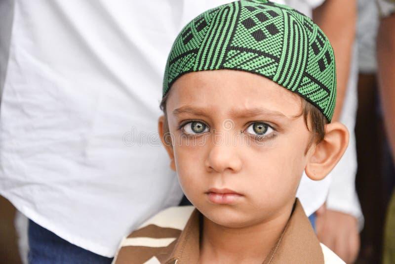 庆祝指示月的结束赖买丹月的Eid AlFitr的穆斯林