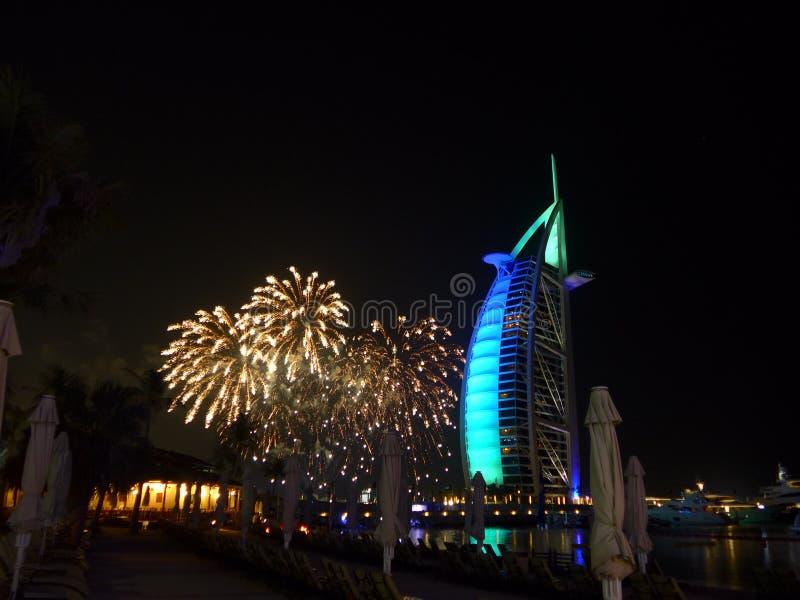 庆祝新的美妙的天的阿拉伯联合酋长国 库存图片