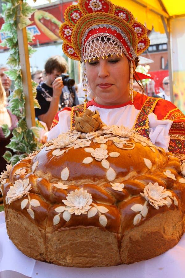 庆祝日俄国 免版税库存图片