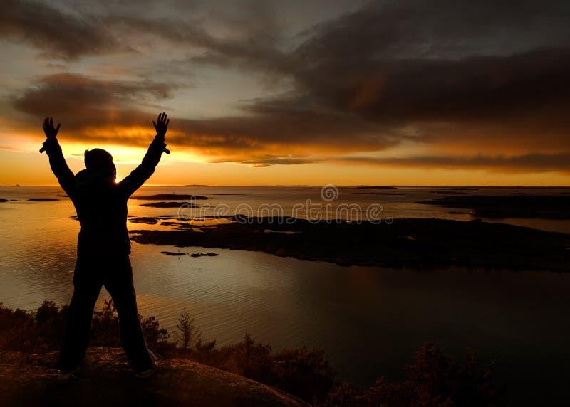 庆祝海洋 免版税库存图片