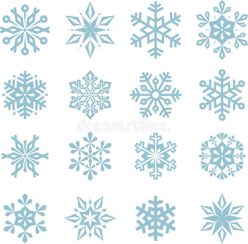 庆祝的圣诞节设计例证雪花 免版税库存照片