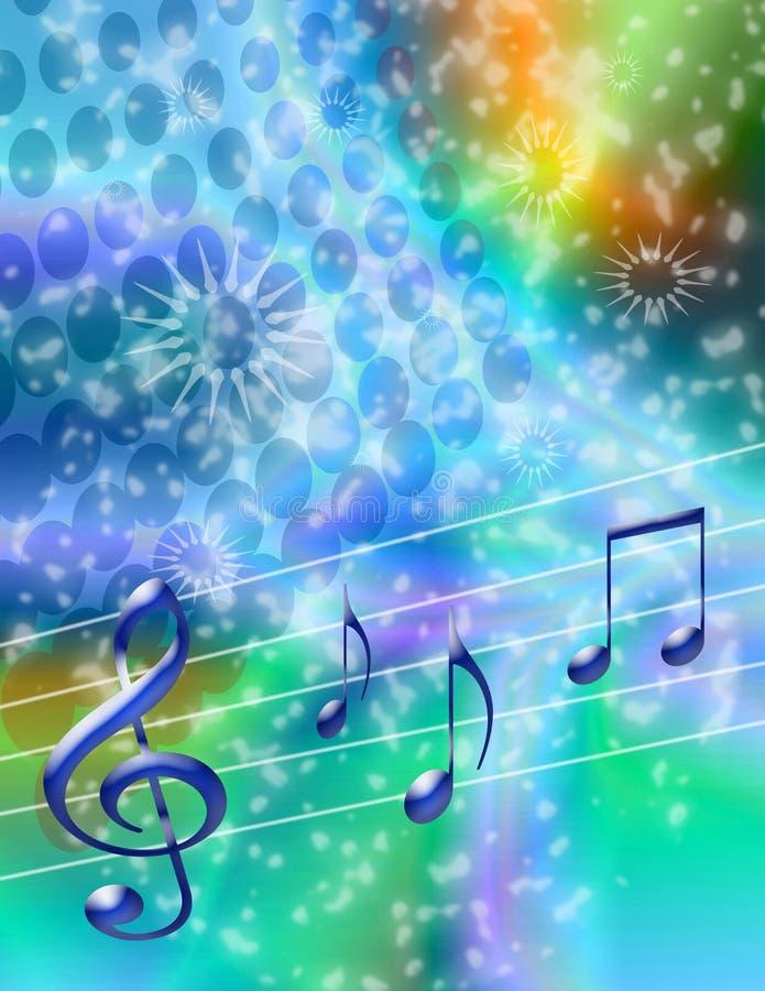 庆祝音乐 向量例证