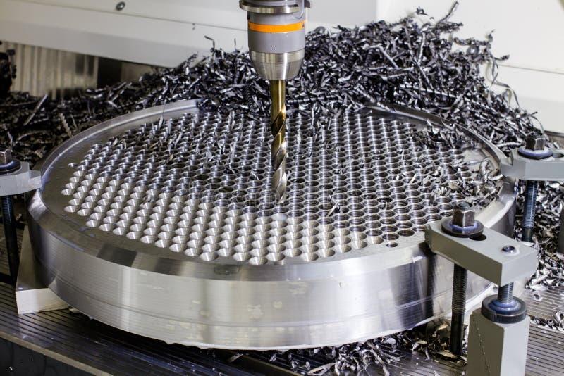 钻床在工厂 免版税图库摄影