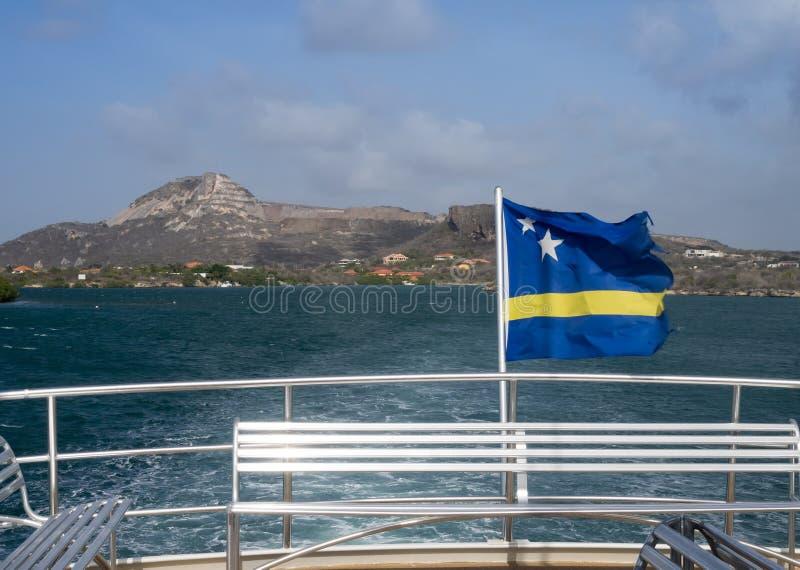 库拉索岛标记 库存照片