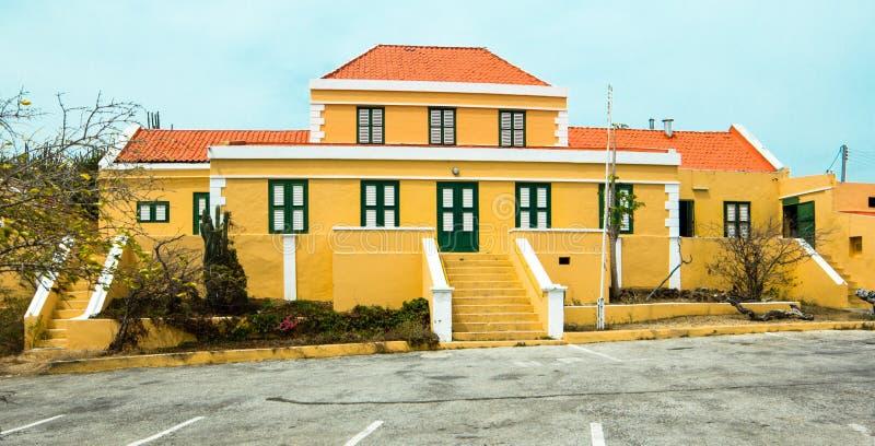 库拉索岛生动描述 免版税库存图片