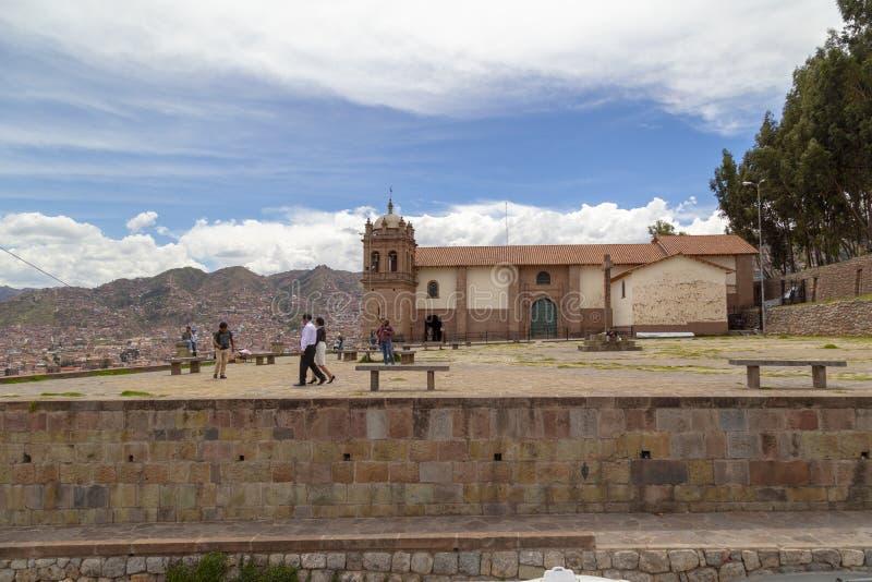 库斯科秘鲁的2019 1月20日,街道  库存图片