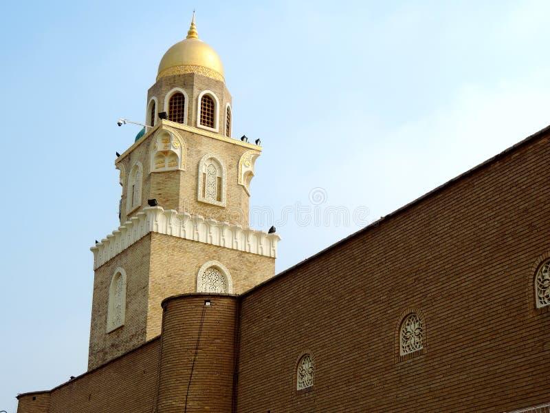 库法,纳亚夫,伊拉克清真大寺  免版税库存照片