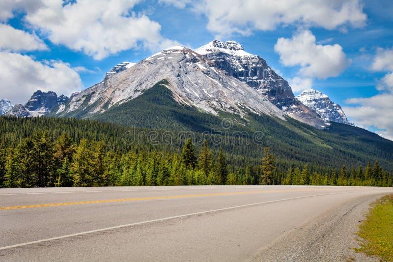 库特尼国家公园,不列颠哥伦比亚省,加拿大 图库摄影