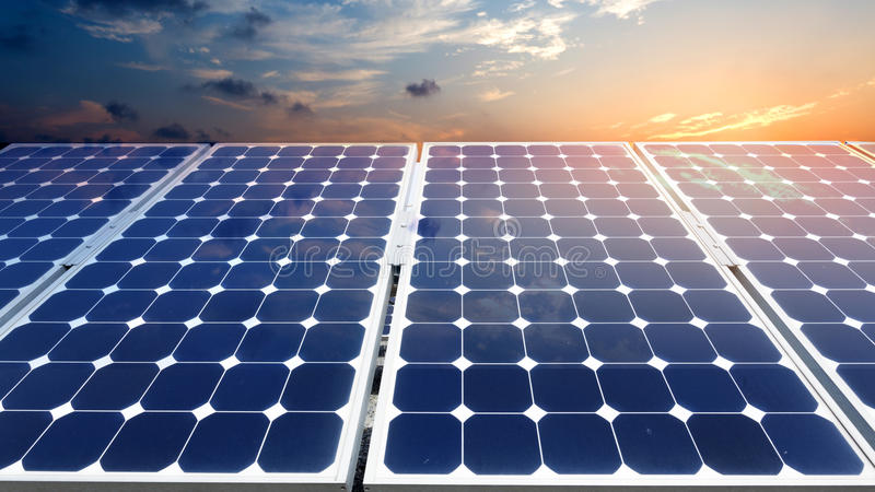 应用程序开发能源新的面板太阳全世界 库存照片