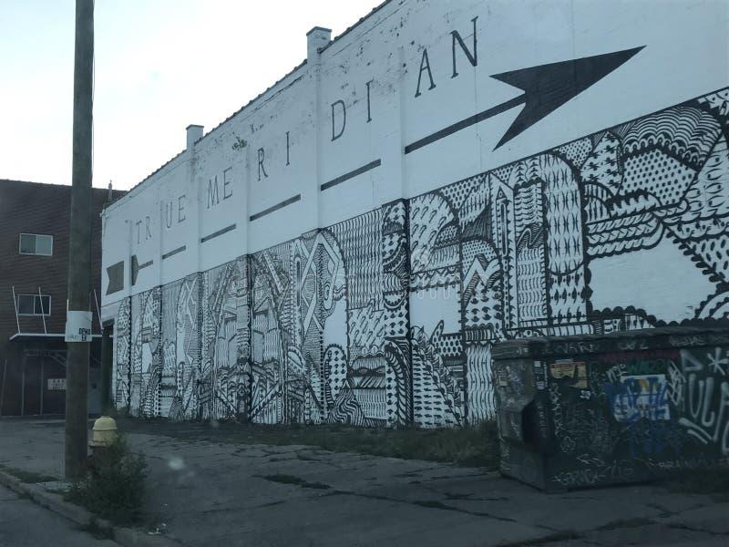 底特律 免版税库存照片