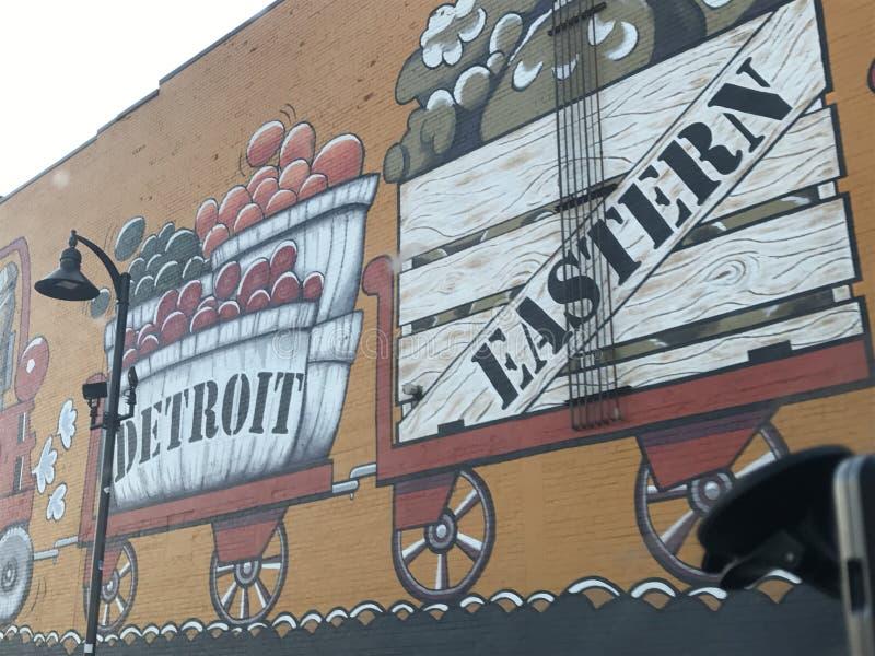 底特律 免版税库存图片