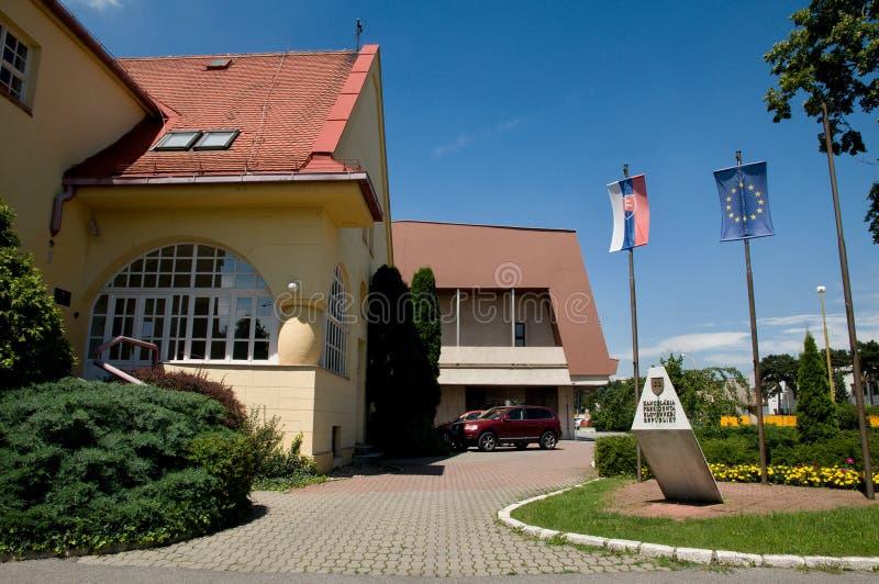 总统府在科希策-斯洛伐克 图库摄影