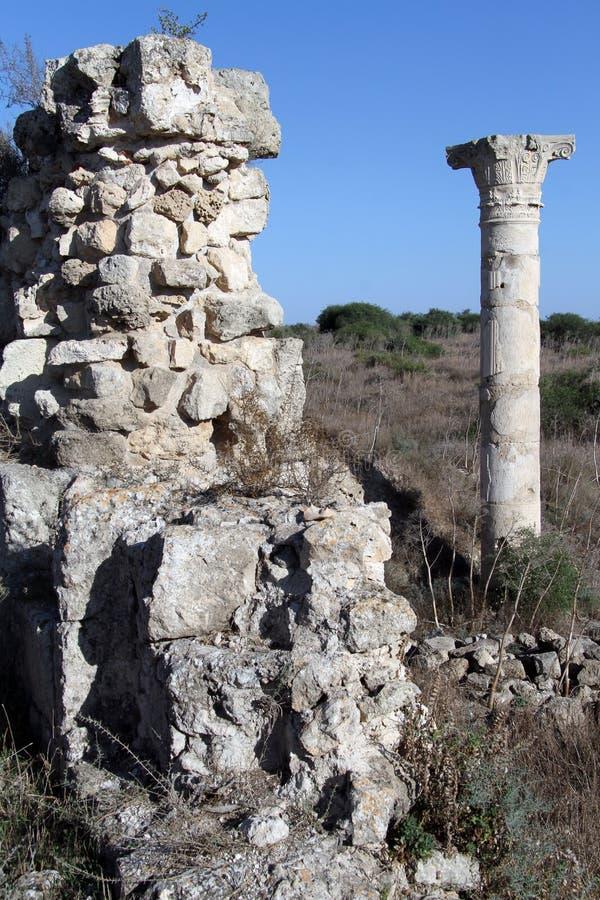 废墟和寺庙 免版税库存照片