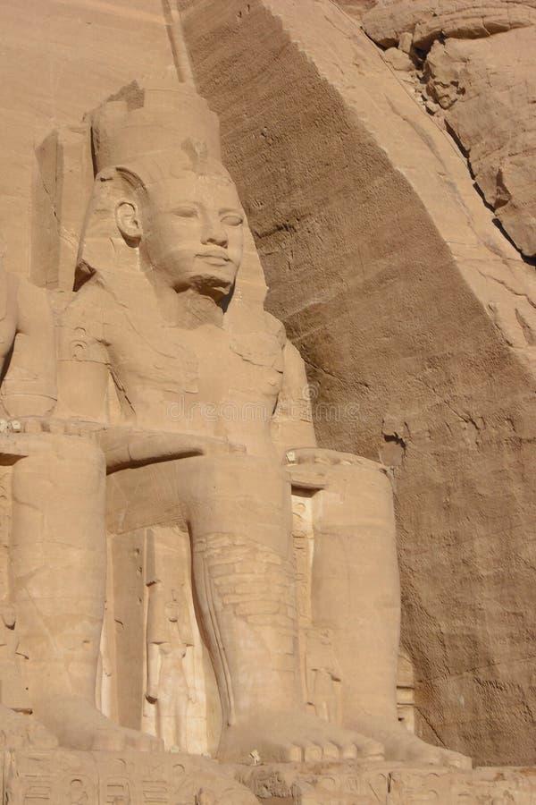 废墟在埃及 免版税库存图片