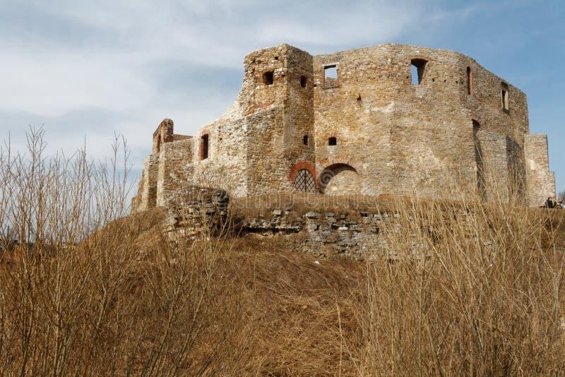 废墟城堡谢维日03 免版税库存照片