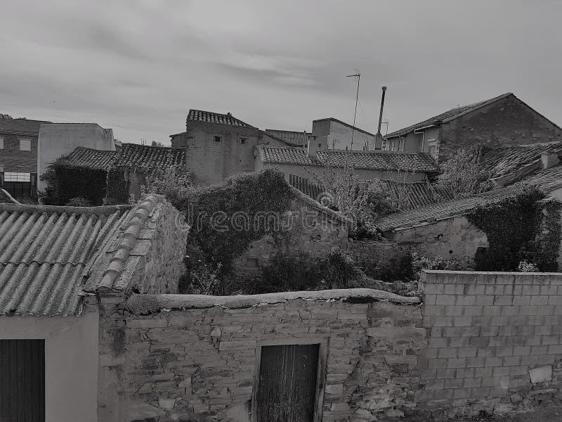 废墟的议院 库存照片