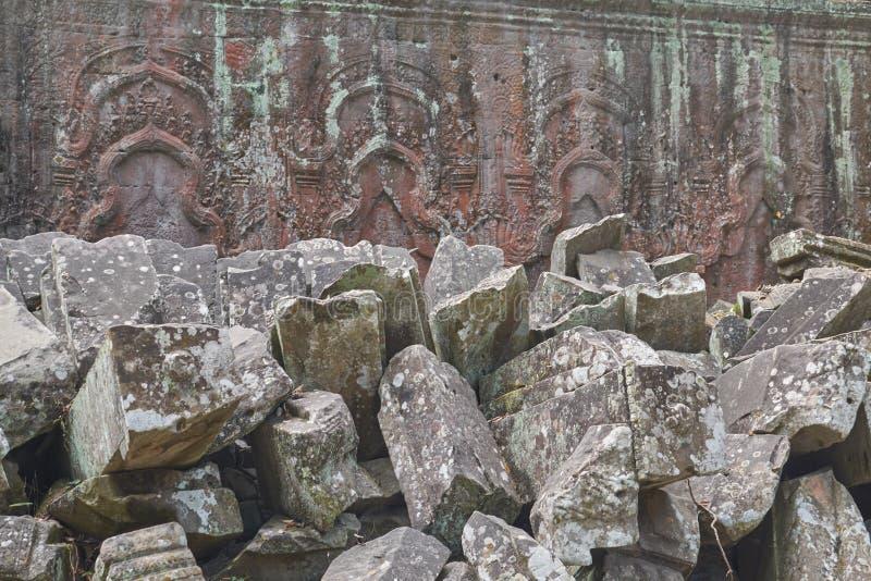 废墟吴哥窟,暹粒,柬埔寨 库存图片