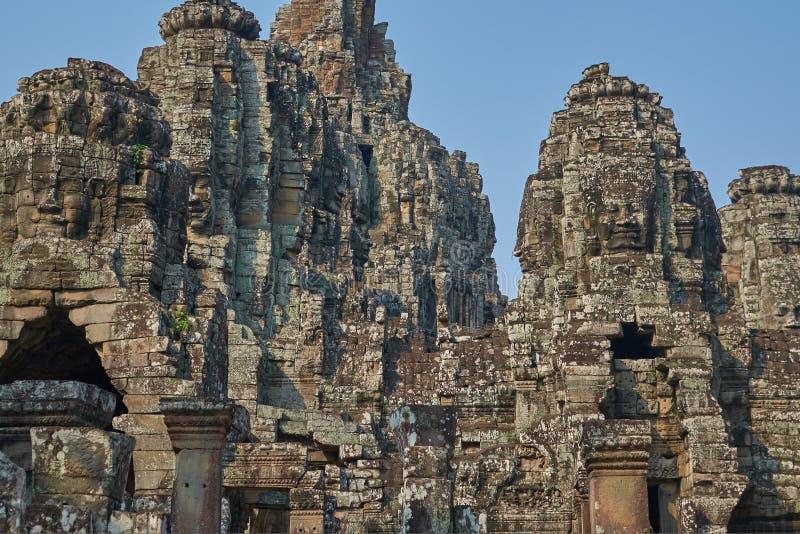 废墟吴哥窟,暹粒,柬埔寨 免版税库存照片