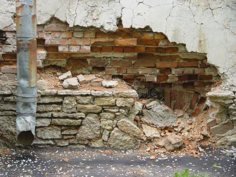 废墟 库存图片