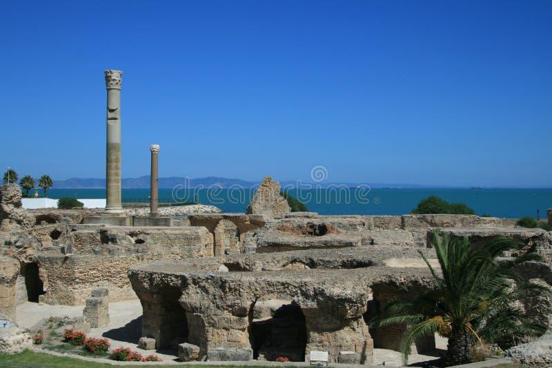 废墟Antonine浴2 免版税库存图片
