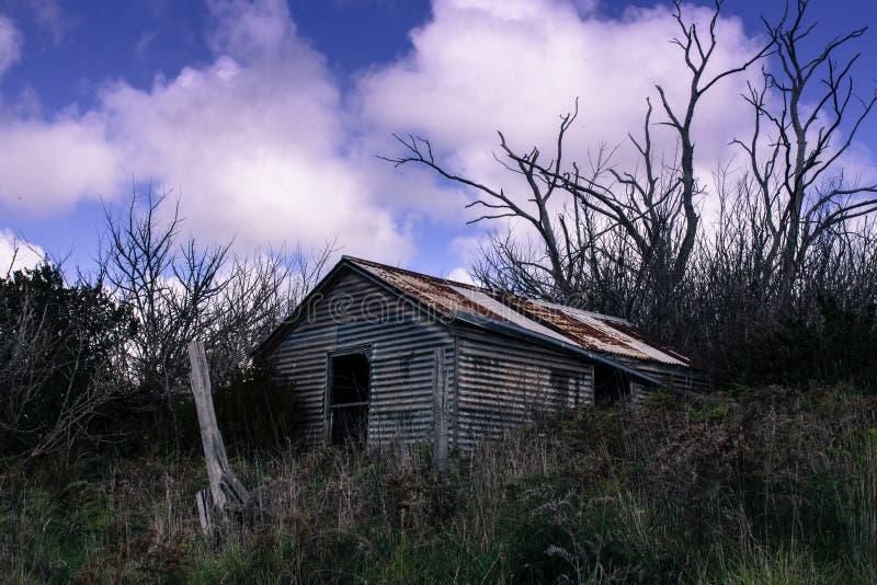 废弃的大厦 免版税库存图片