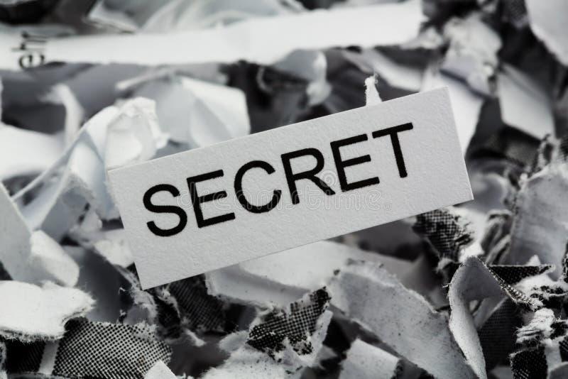 废弃秘密 库存图片