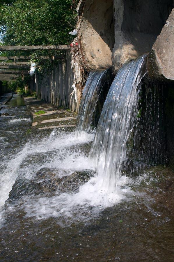 废水 免版税库存照片