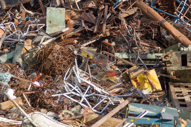 废金属回收 图库摄影