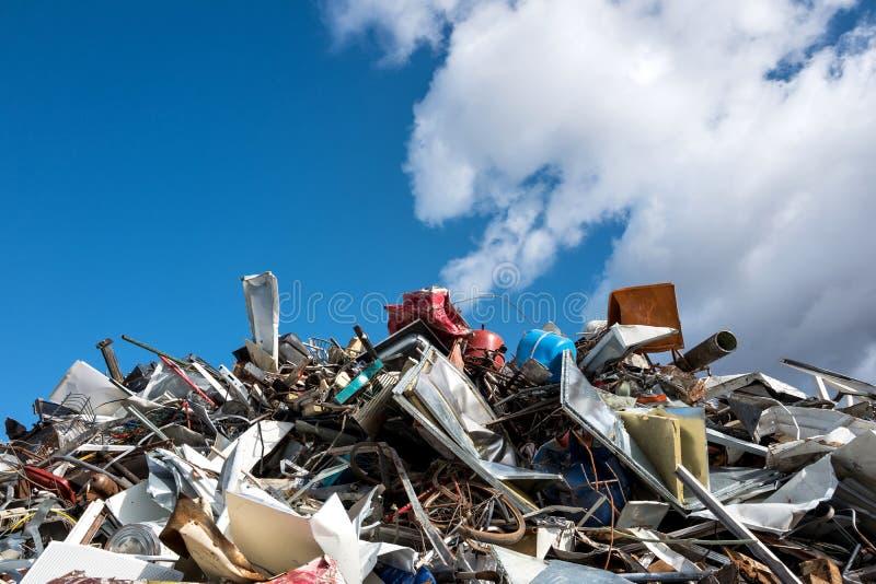 废金属 免版税图库摄影