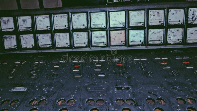 废钢厂控制 图库摄影
