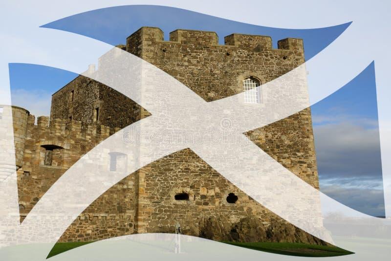 黑度城堡 库存图片