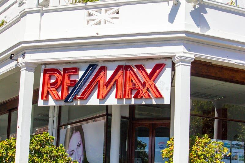 座席庄园实际remax 免版税库存图片