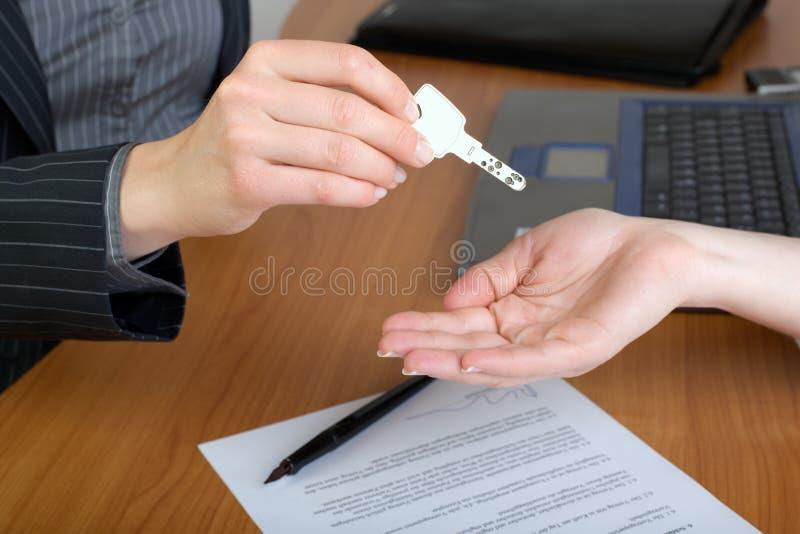座席庄园现有量在实际的房子关键字 免版税库存照片